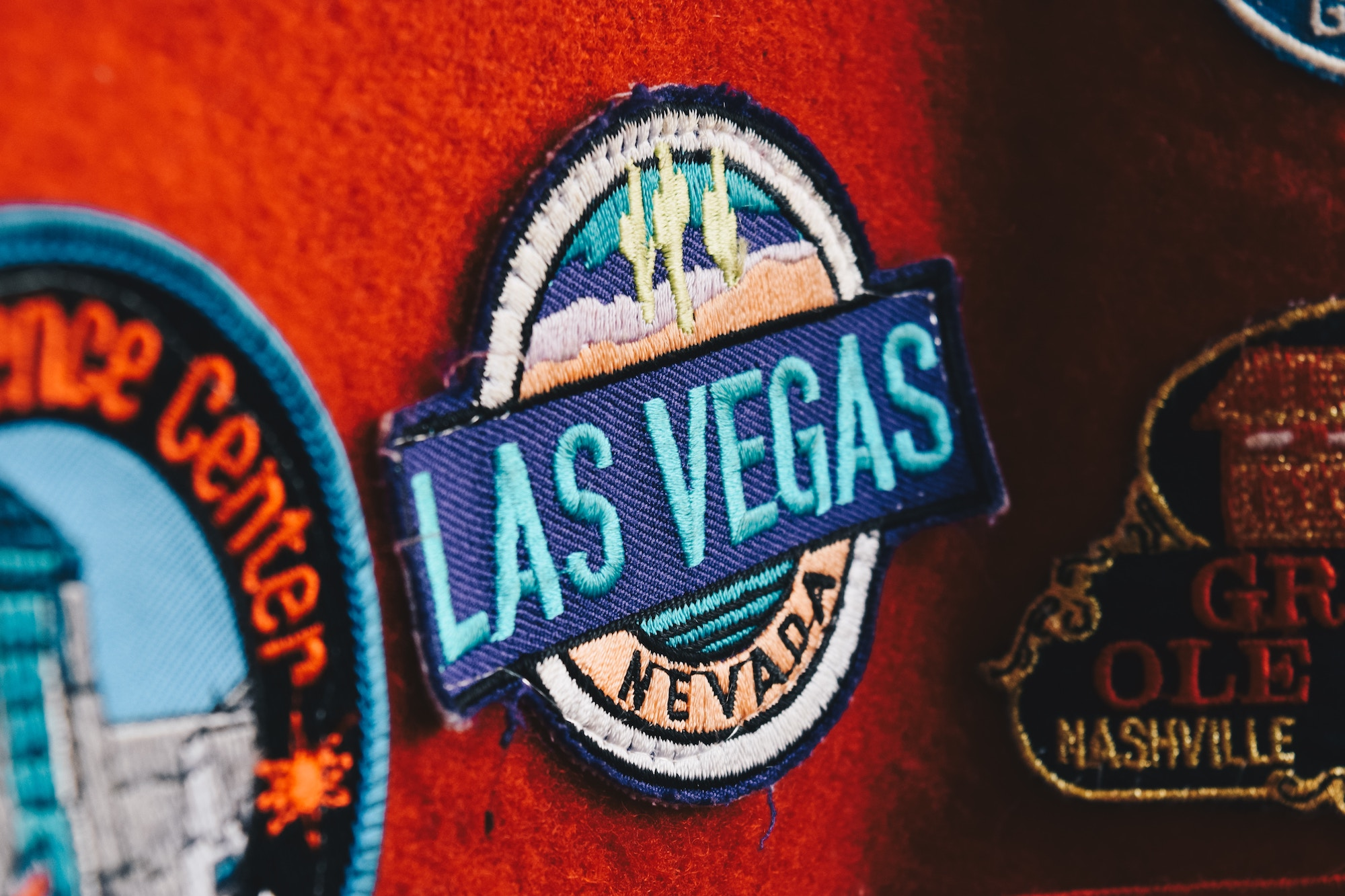 Las Vegas Badge