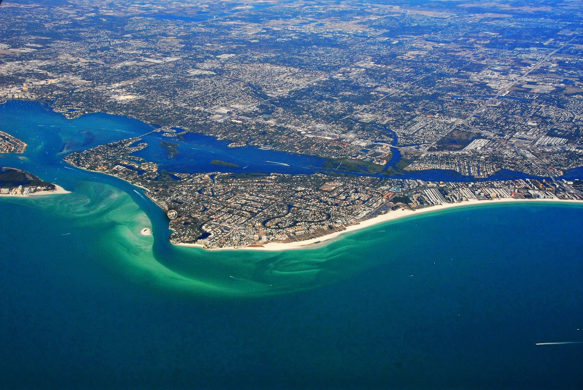 Aerial View of Gulf Coast