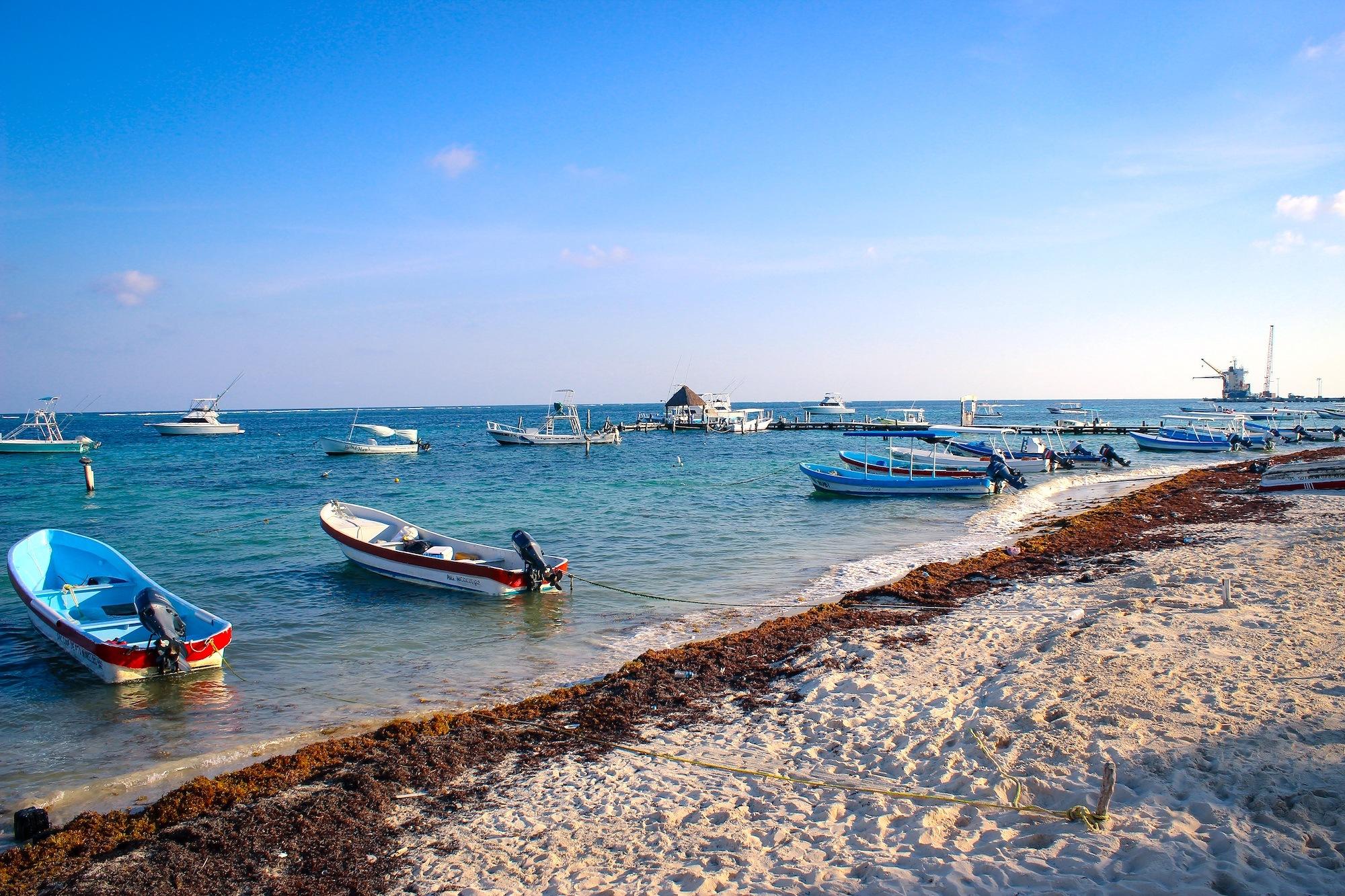 Boats Riviera Maya