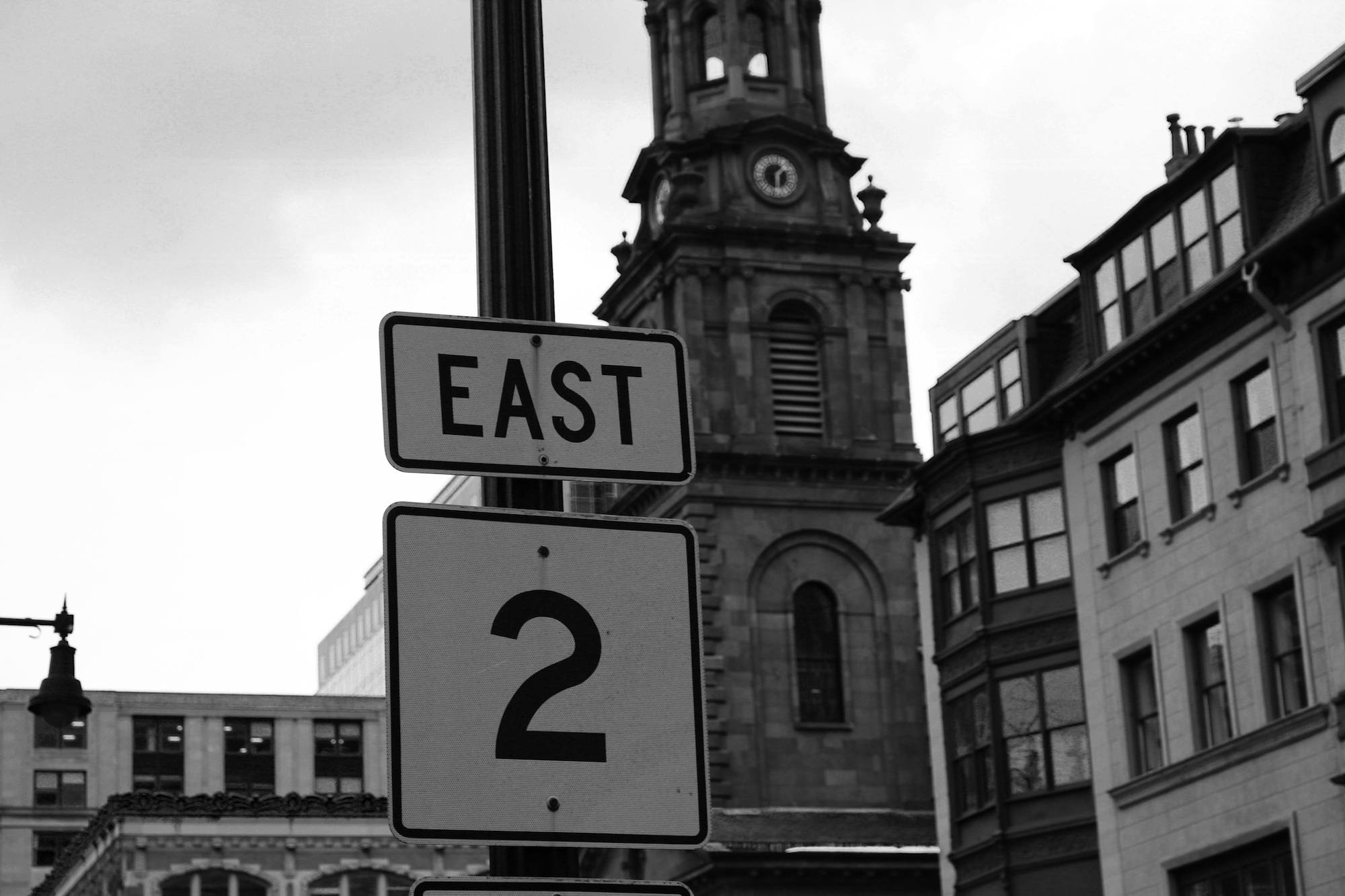 Boston Street Sign
