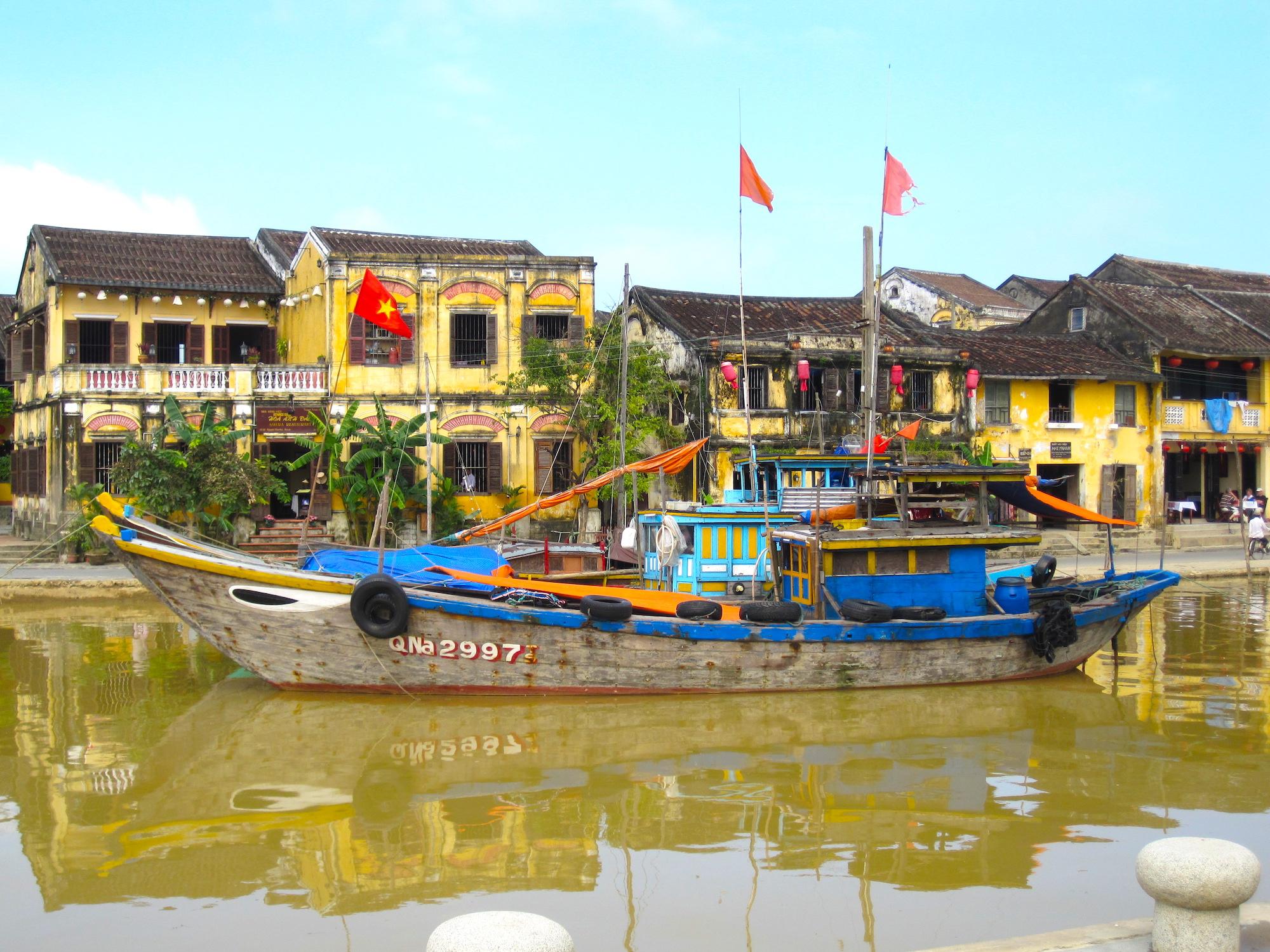 Vietnam Hoi An Boat