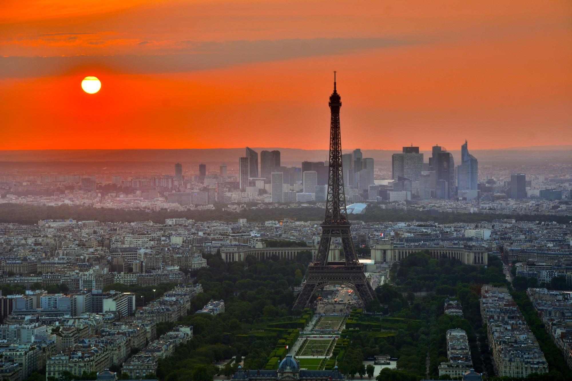 Paris Sunset europe