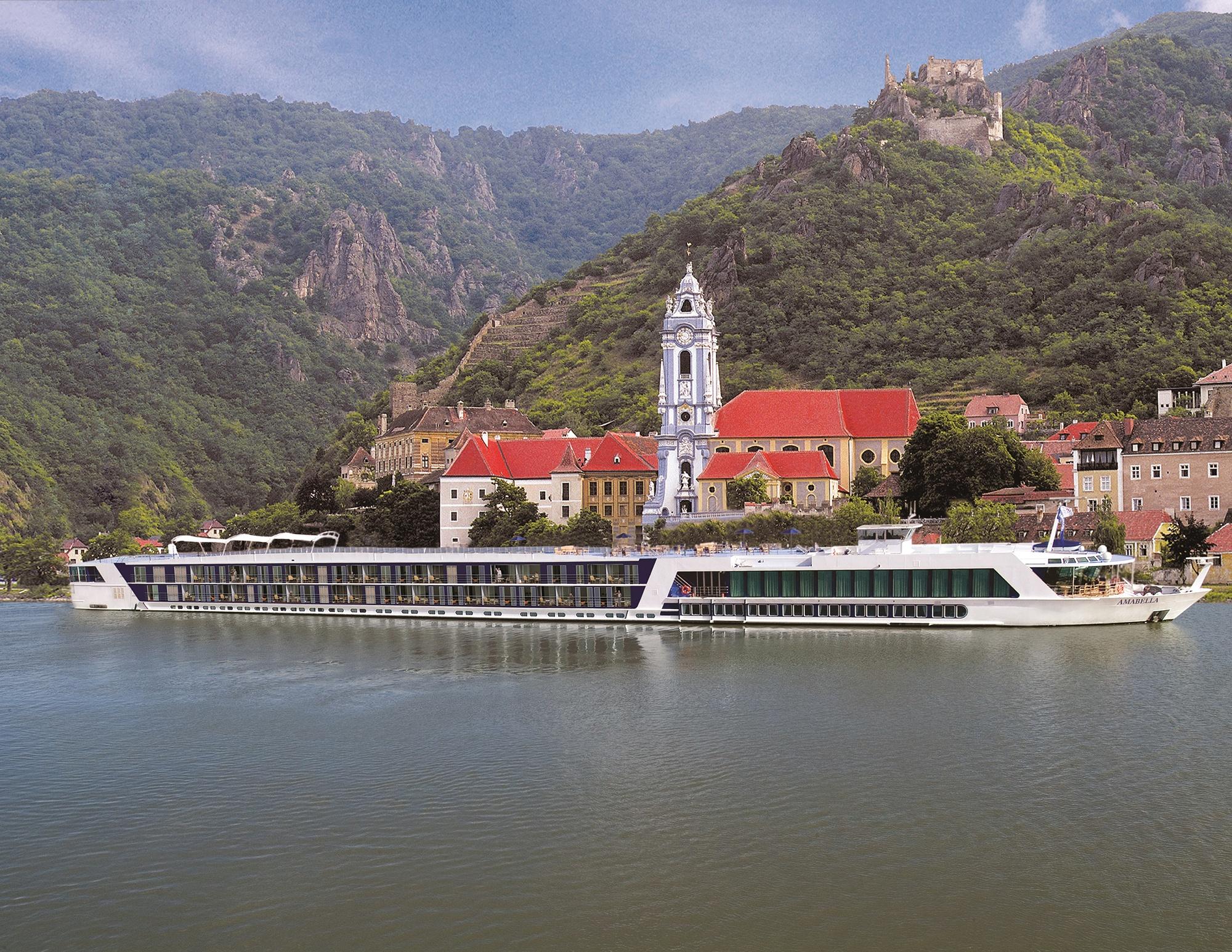 AmaBella Cruise Ship Exterior