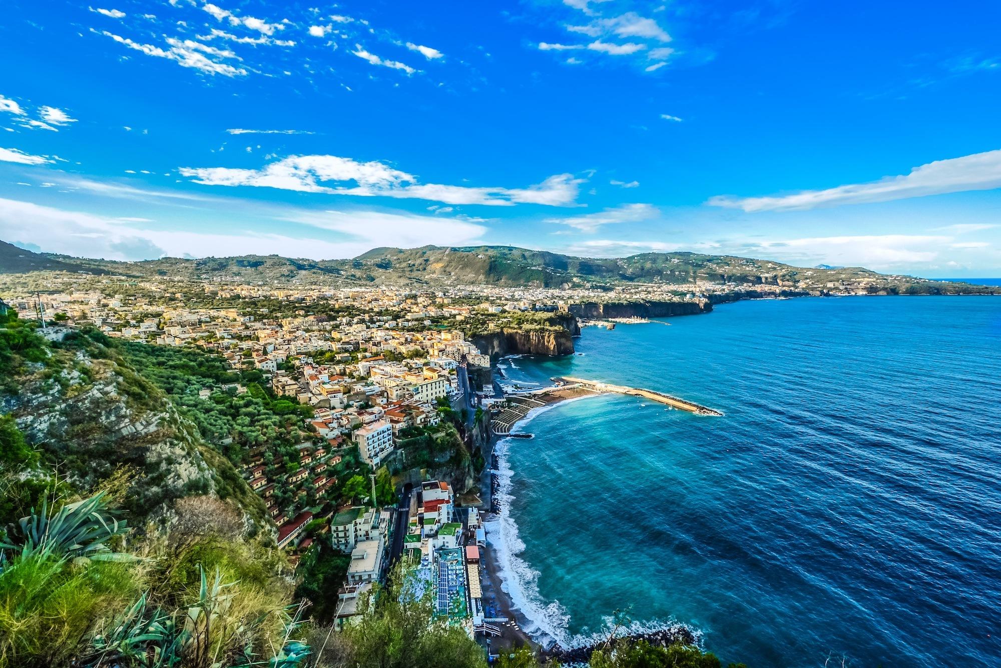 Amalfi Coast Shoreline