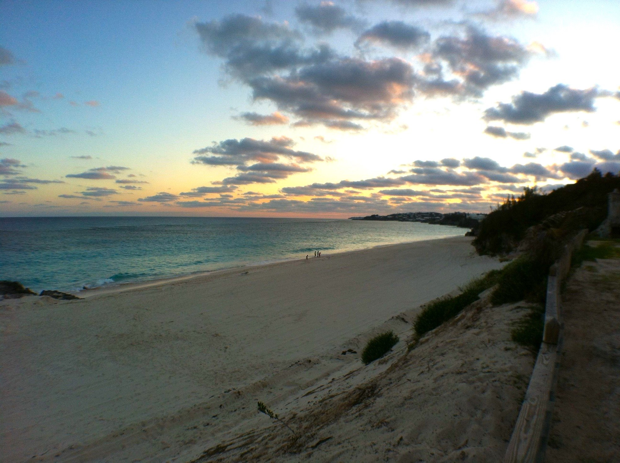 Bermuda Beach Sunset