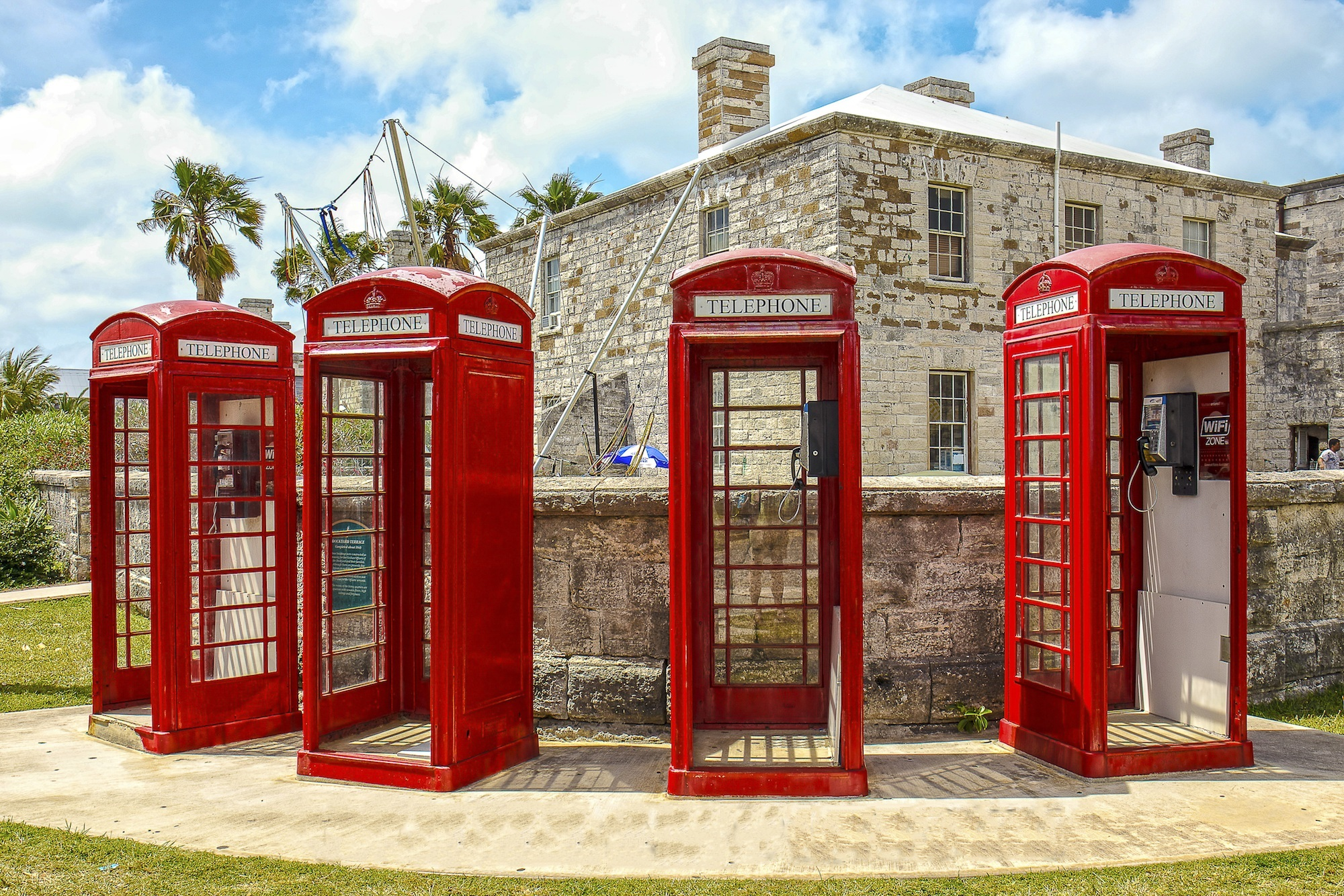 Bermuda Phone Booths