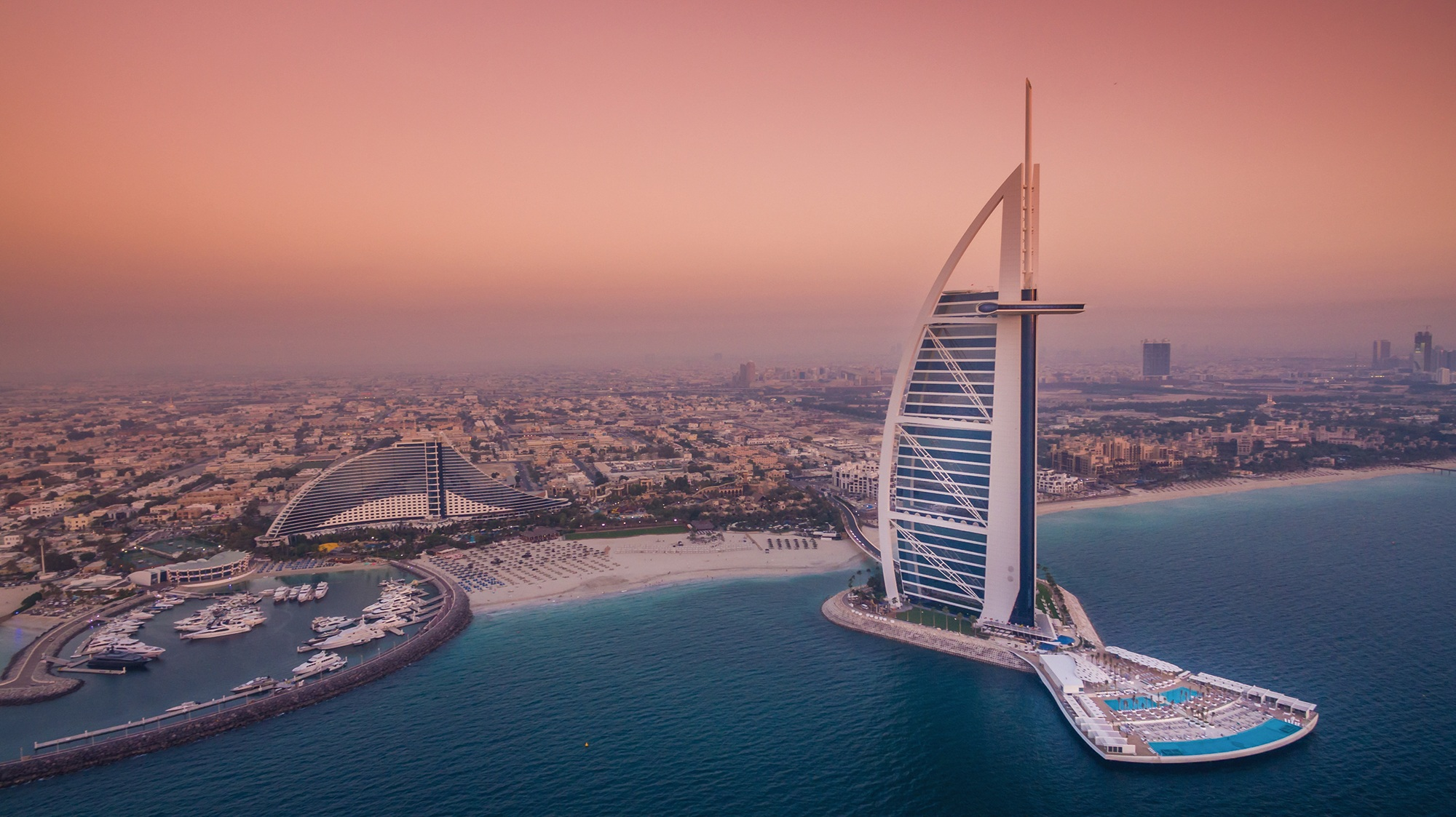 Burj Al-Arab Sunrise