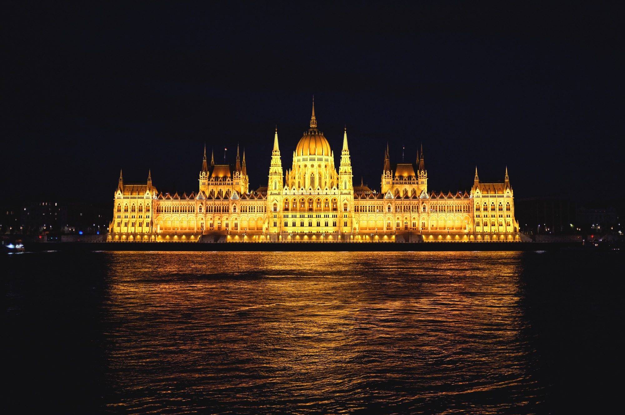 Danube Budapest Parliament Building