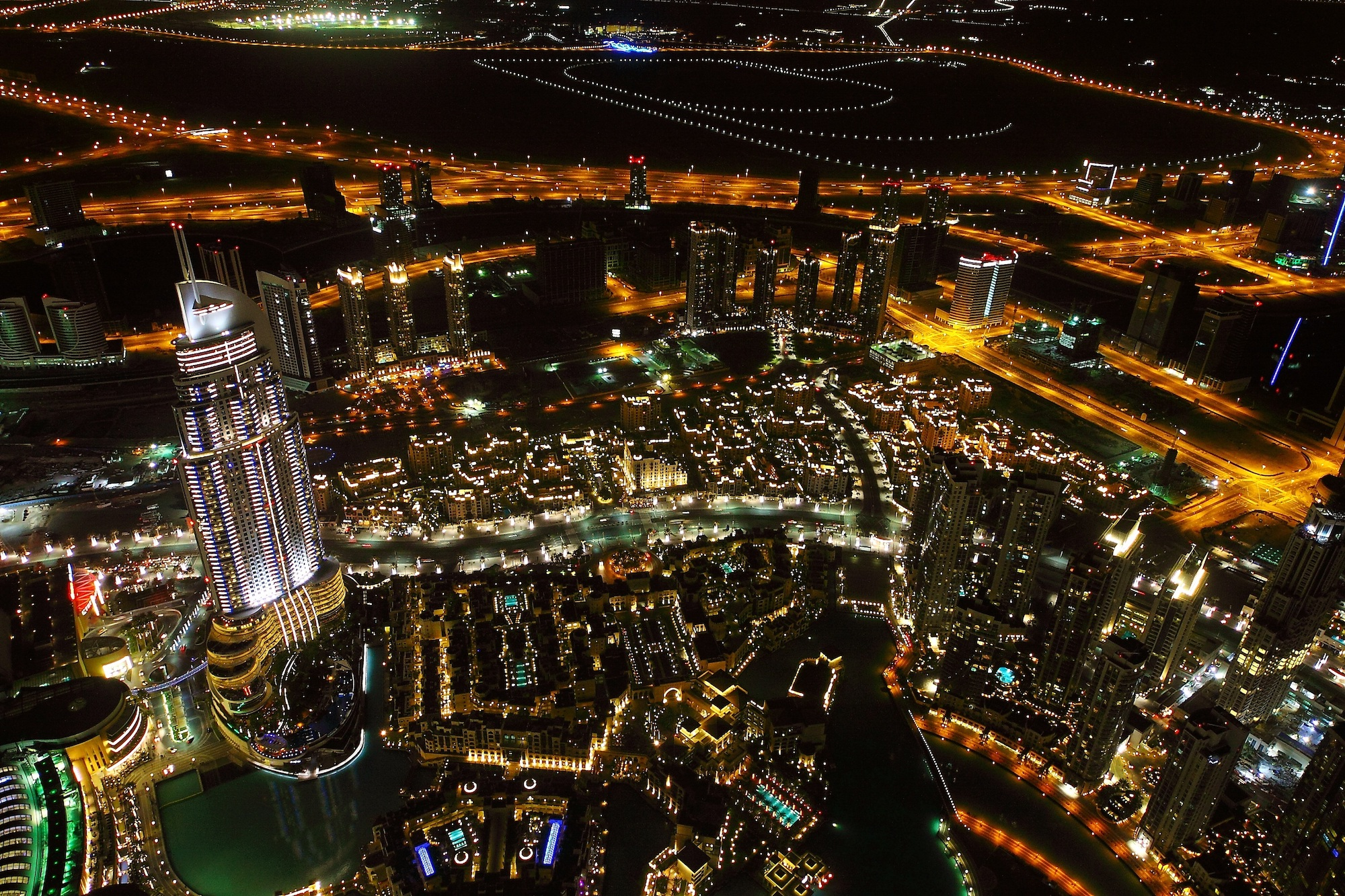 Dubai at Night