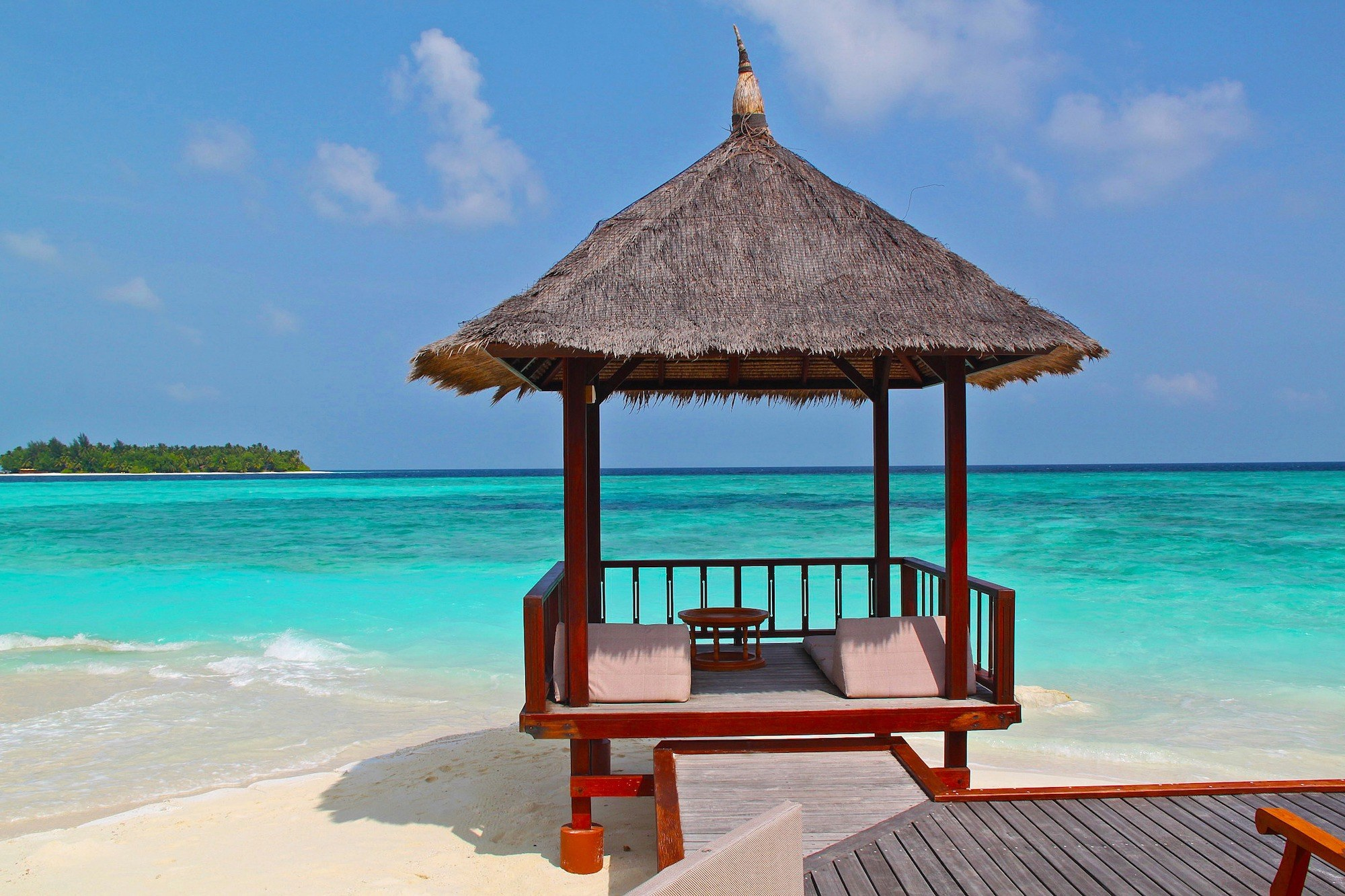 Maldives Beach Hut