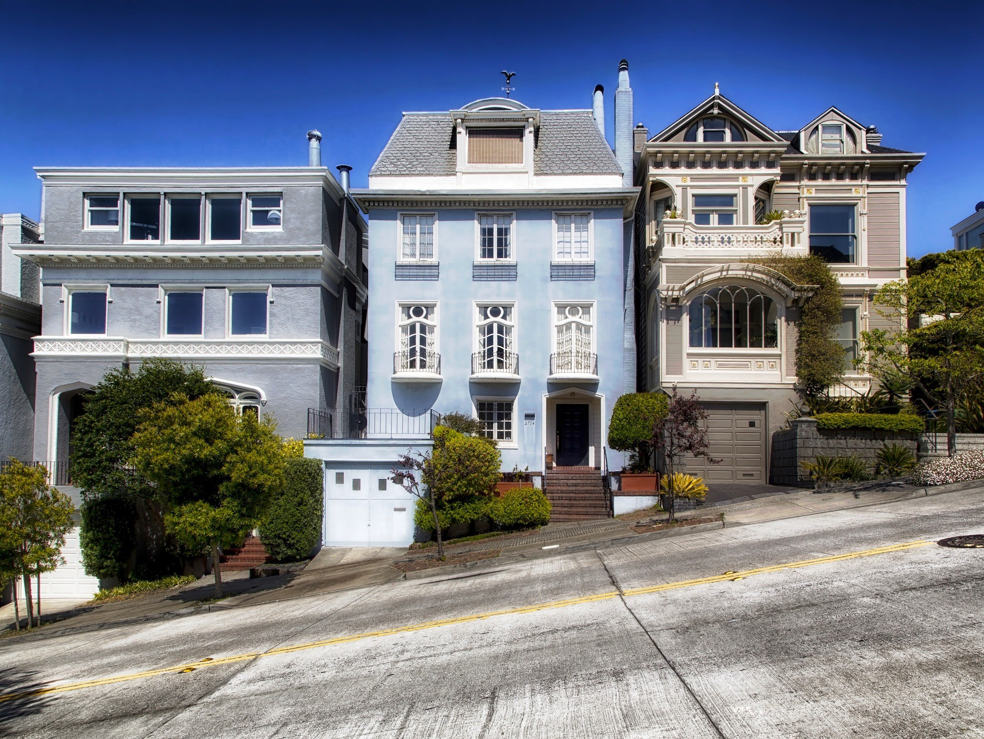 San Francisco Hilly Street