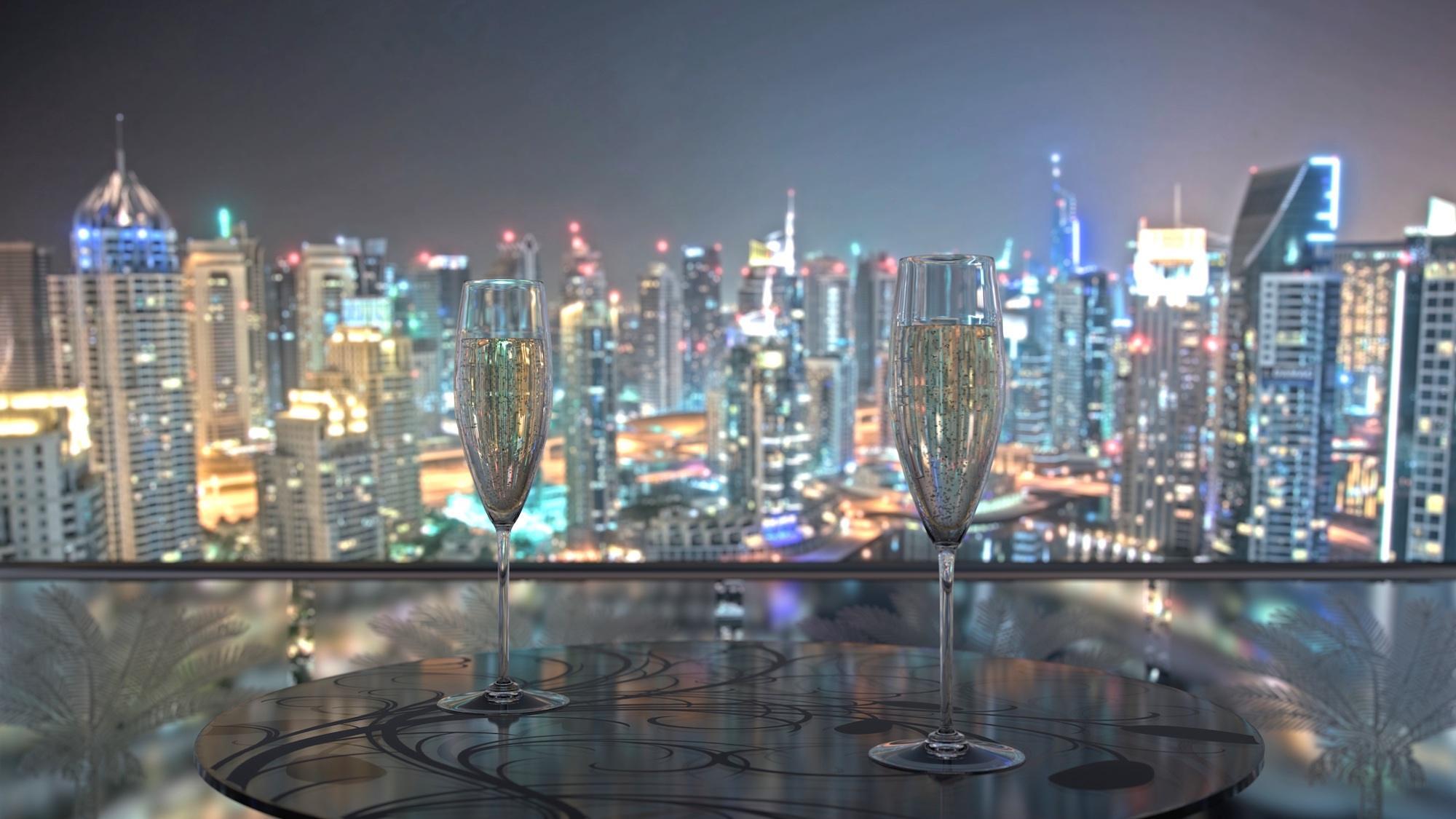 Dubai Champagne