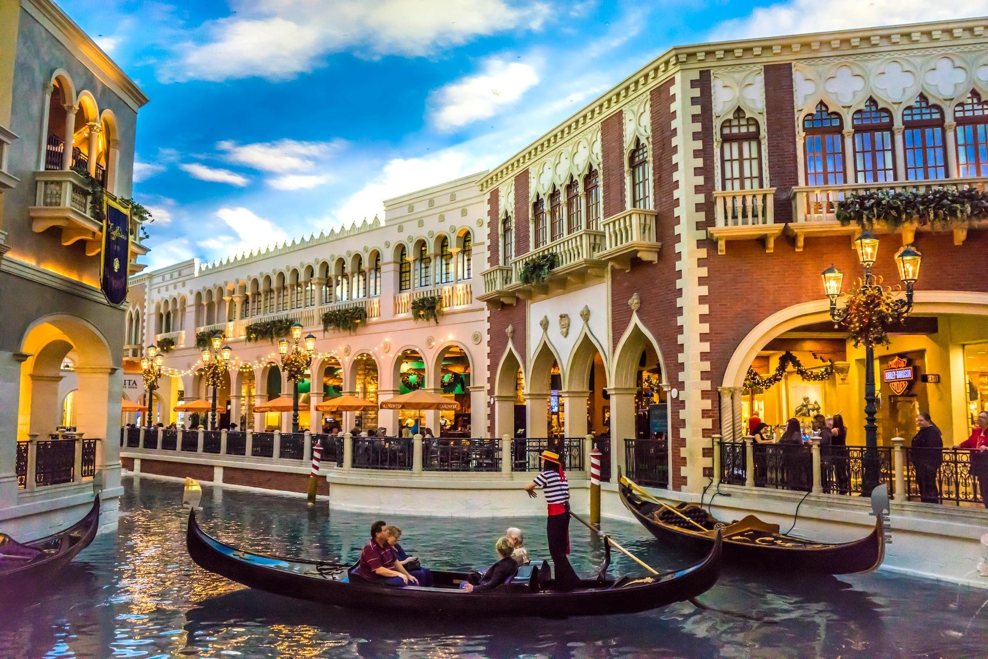 Las Vegas Gondola Canal