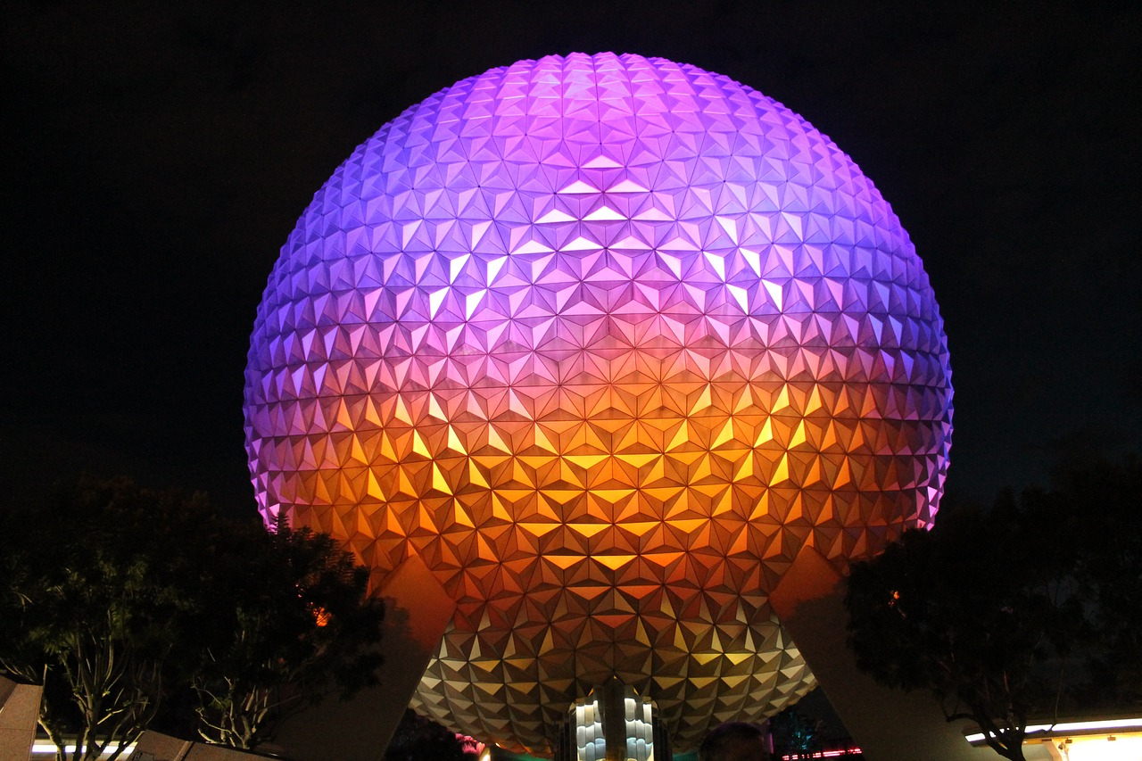 disney-Epcot-night