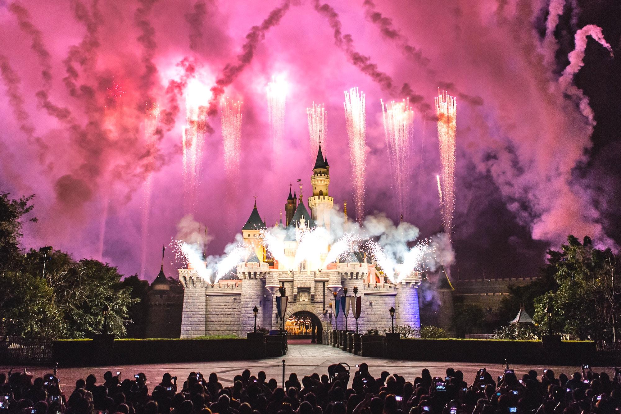 Disney Orlando Fireworks
