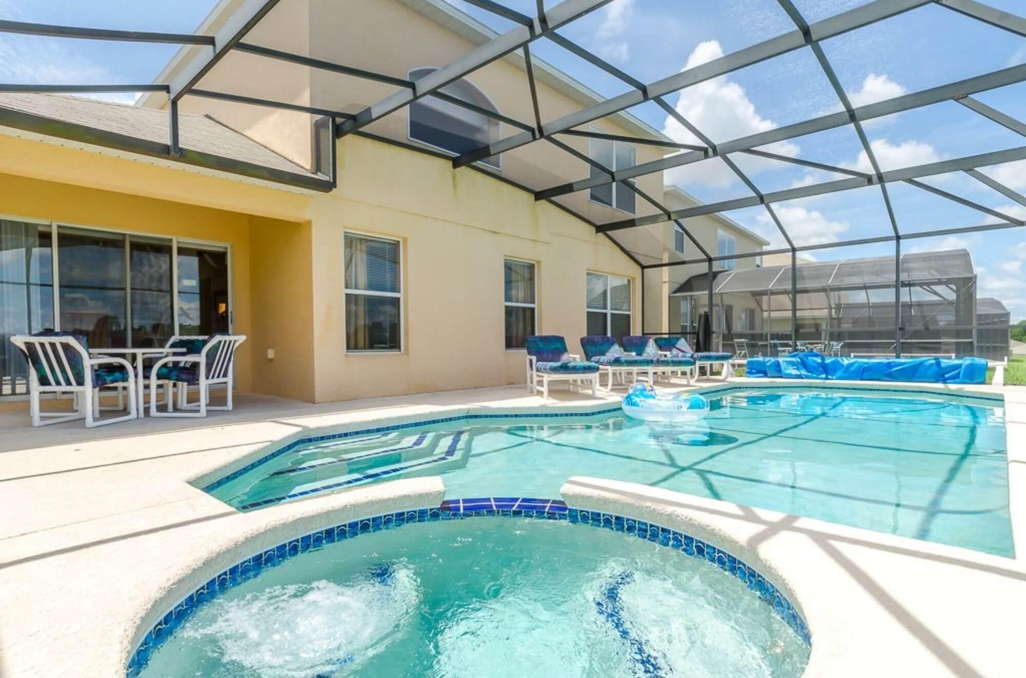 Emerald Island Villa Orlando Swimming Pool