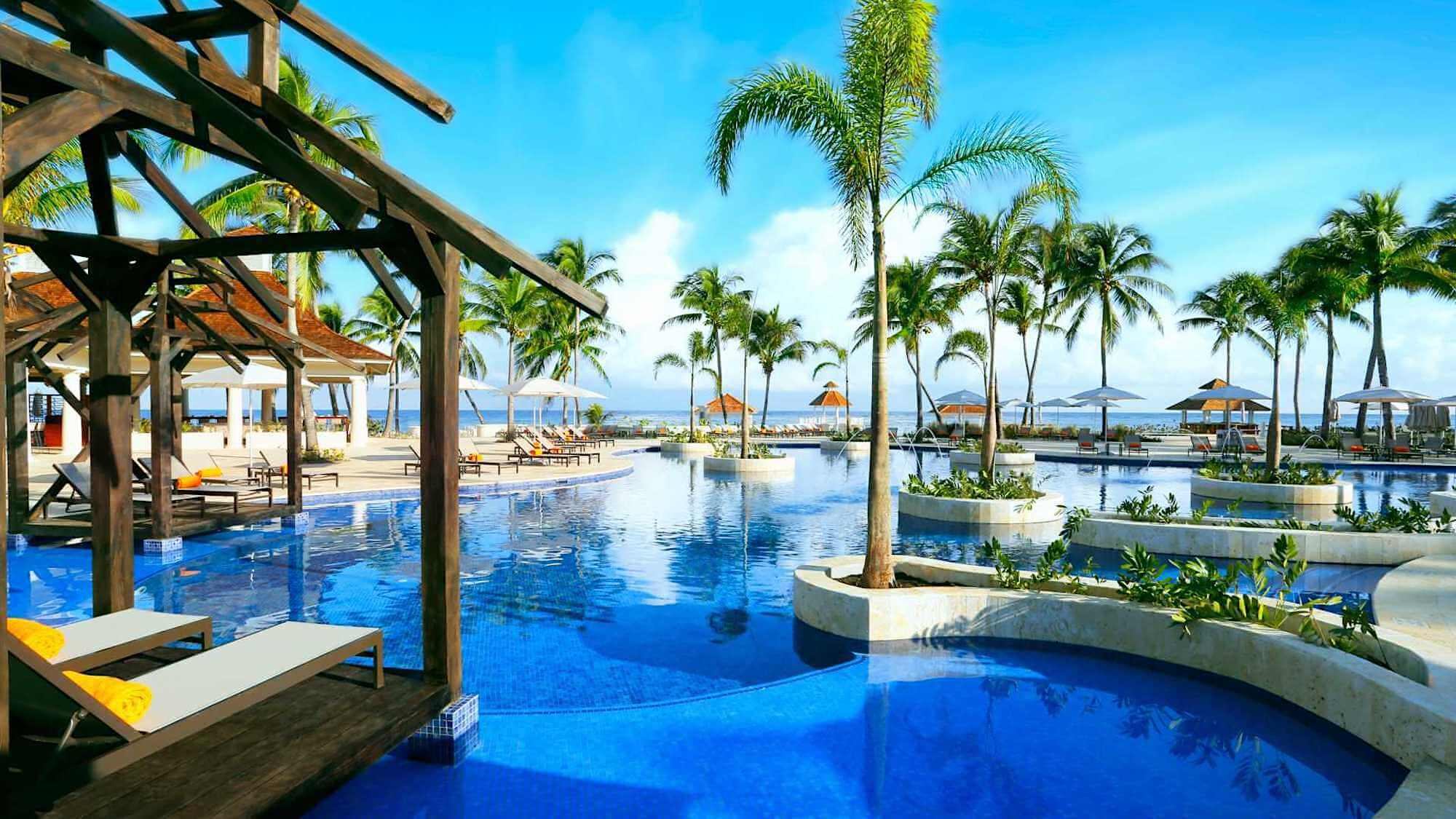 Hyatt Ziva Rose Hall Jamaica Pool