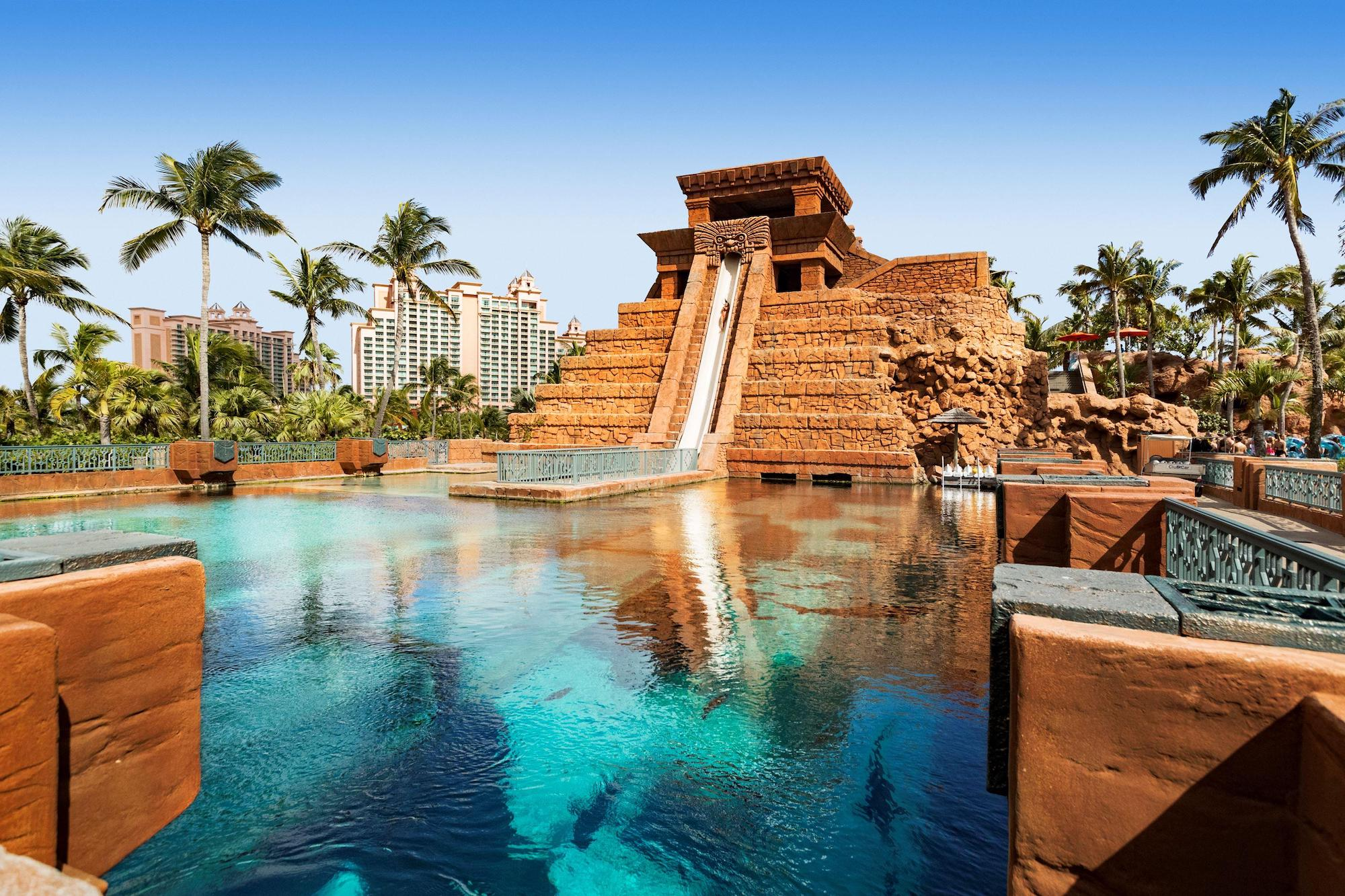 Mayan Temple Leap of Faith, Atlantis, The Palm, Dubai