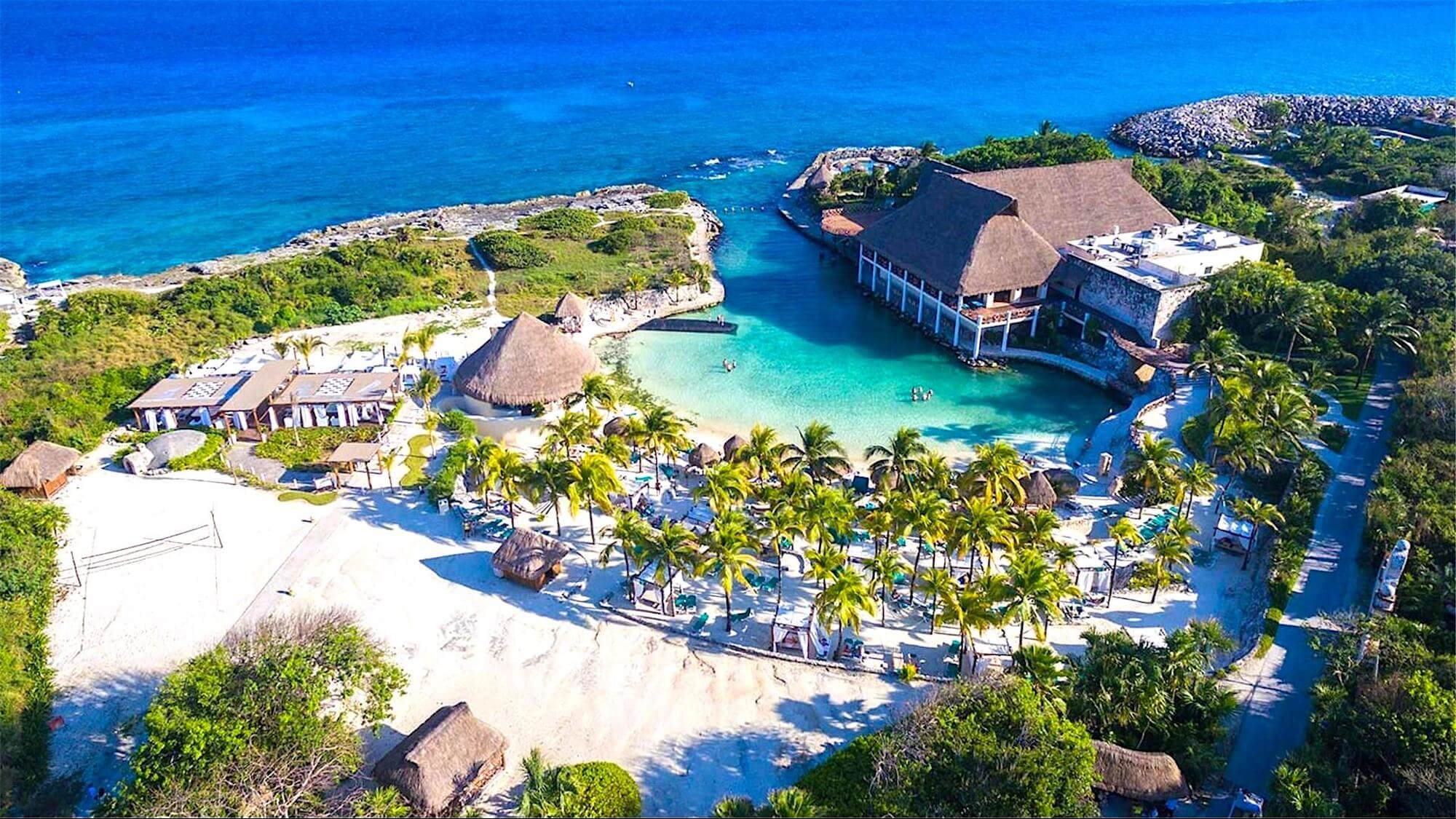 Occidental at Xcaret Destination Riviera Maya Aerial 2