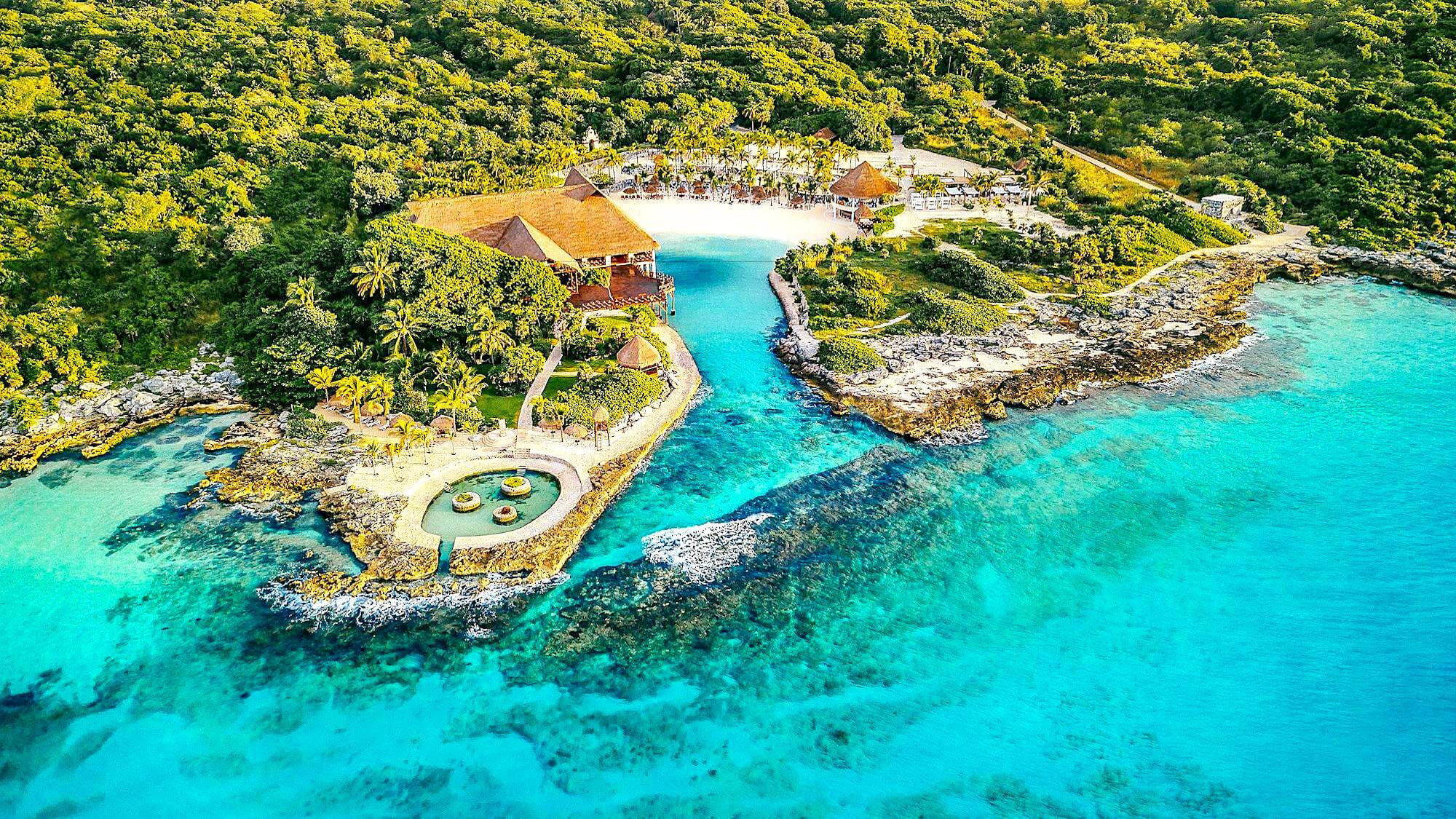 Occidental at Xcaret Destination Riviera Maya Aerial
