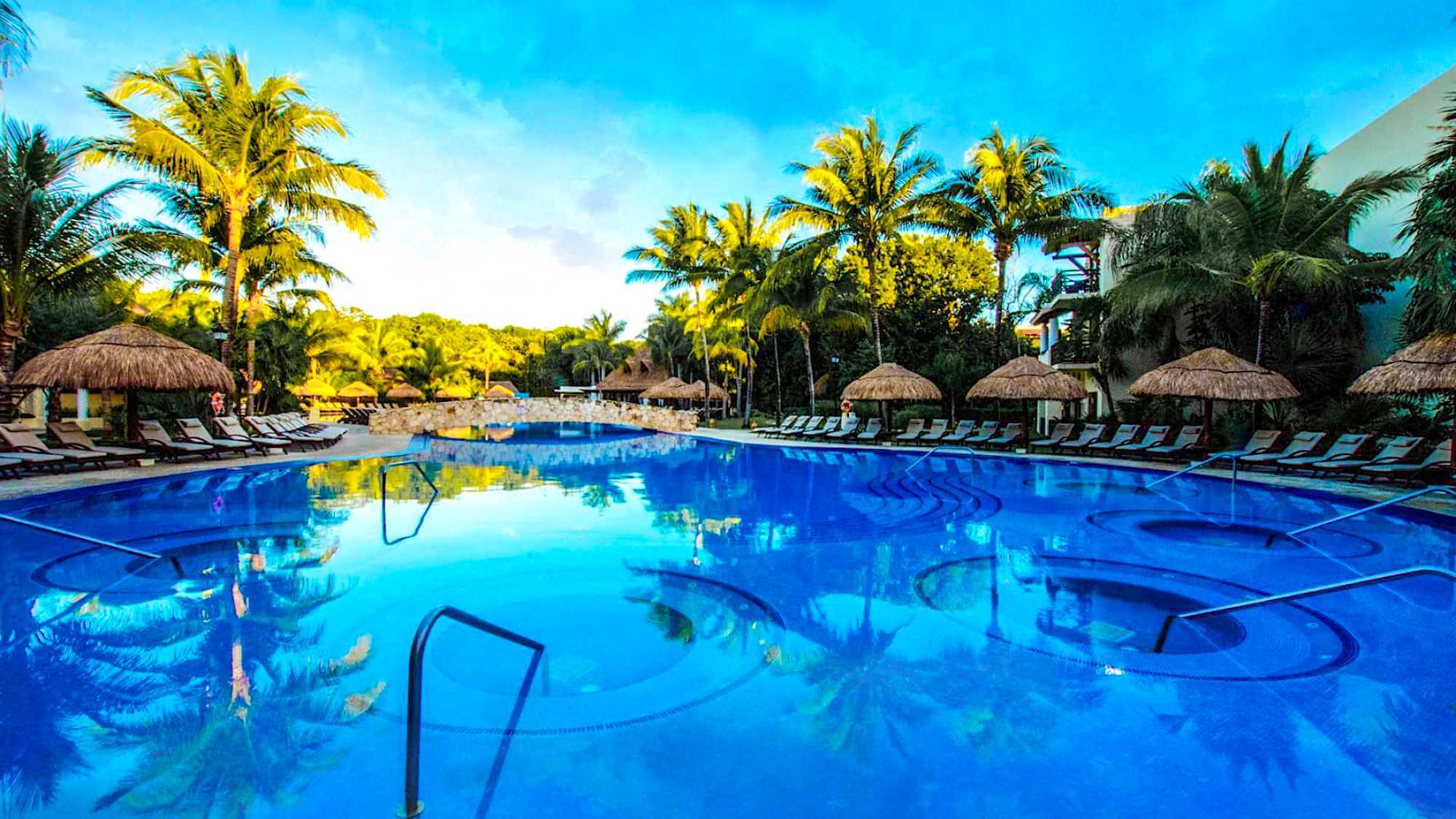 Occidental at Xcaret Destination Riviera Maya Pool