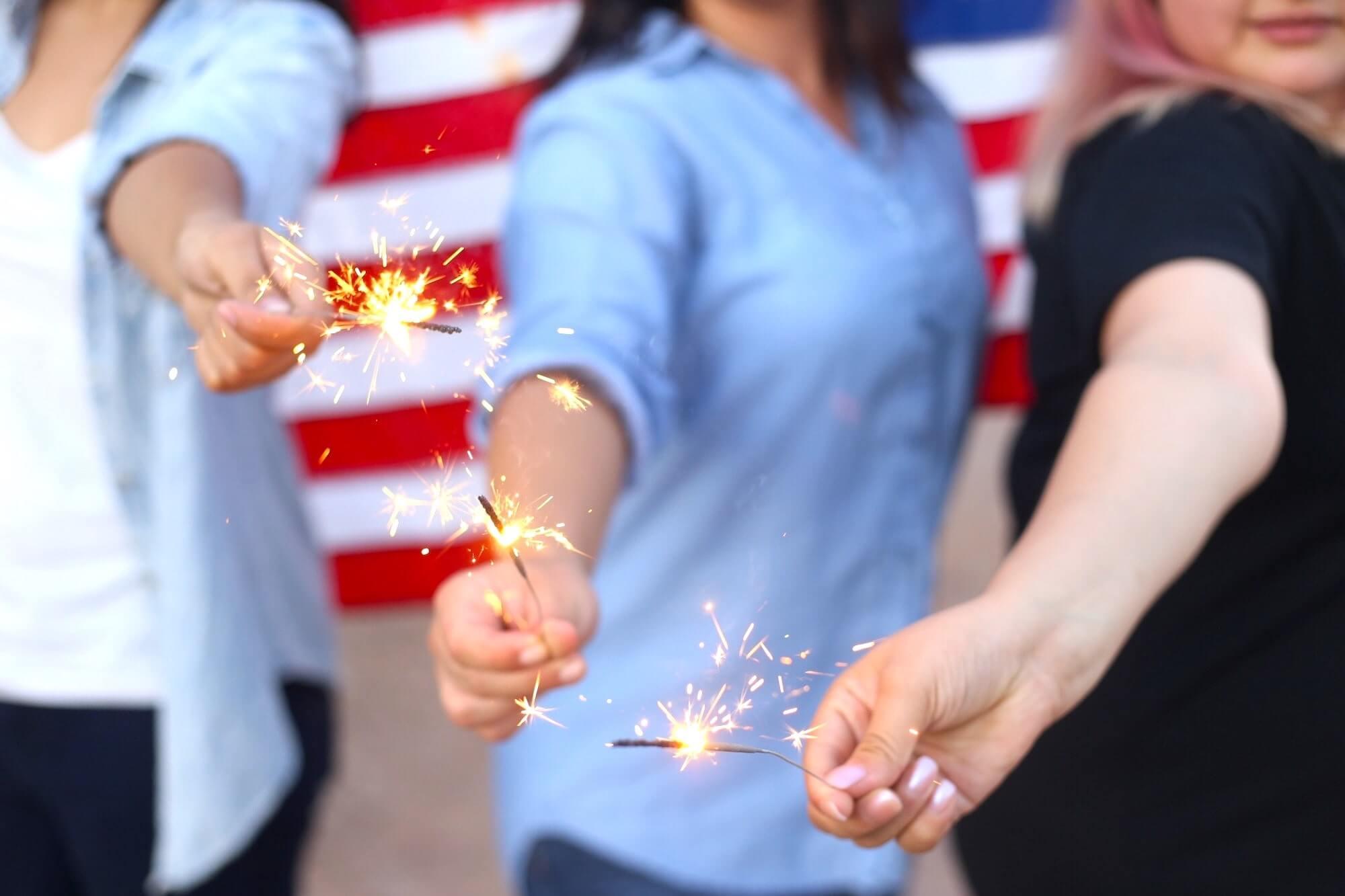 USA Sparklers
