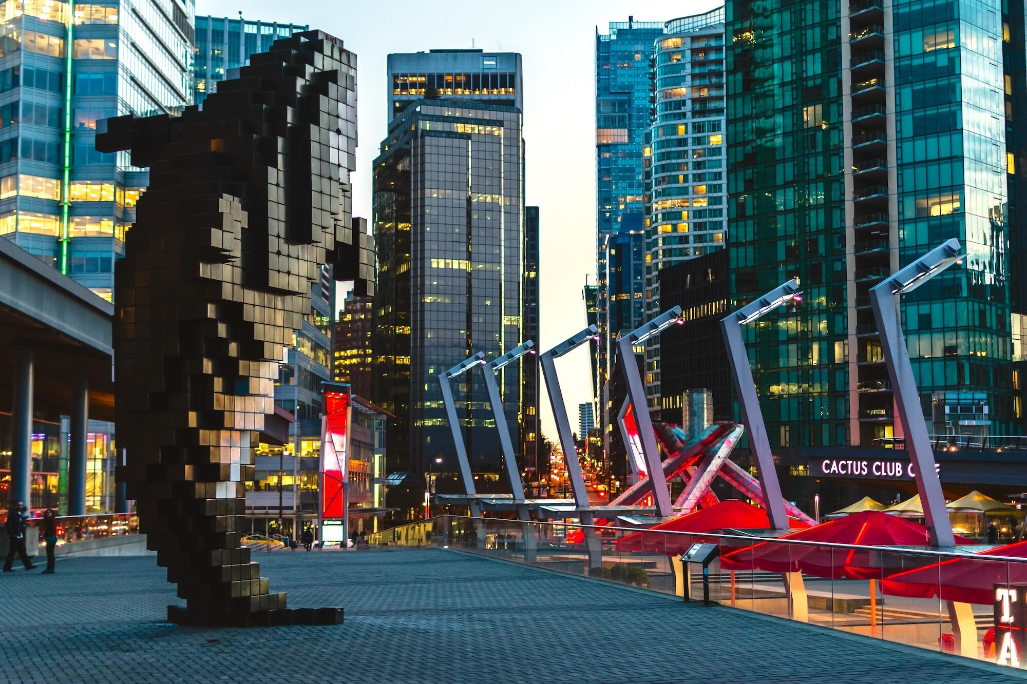 Digital Orca Canada Place Vancouver