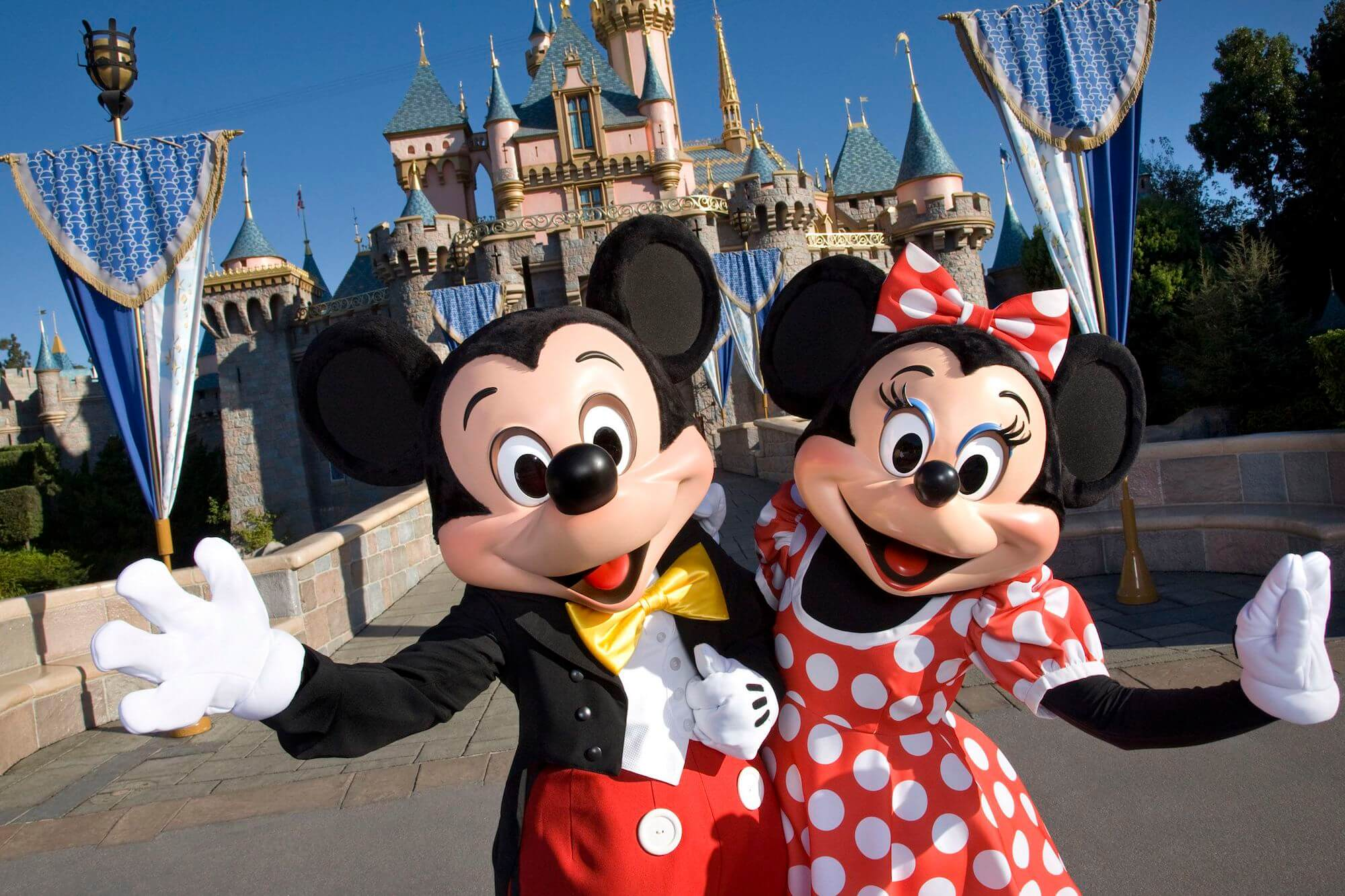 Disneyland Mickey & Minnie