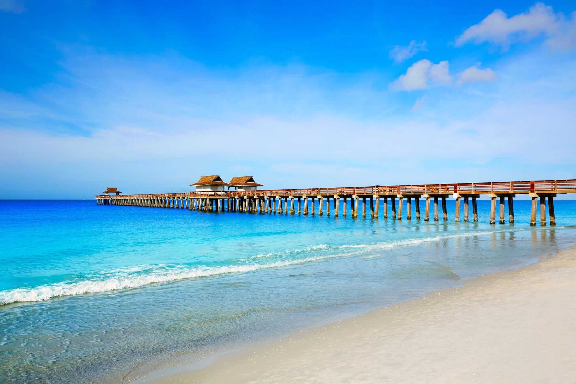 Naples Beach & Pier Florida