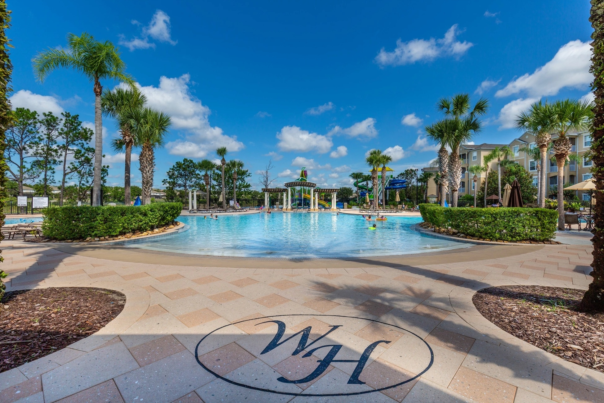 Windsor Hills Orlando Pool Area