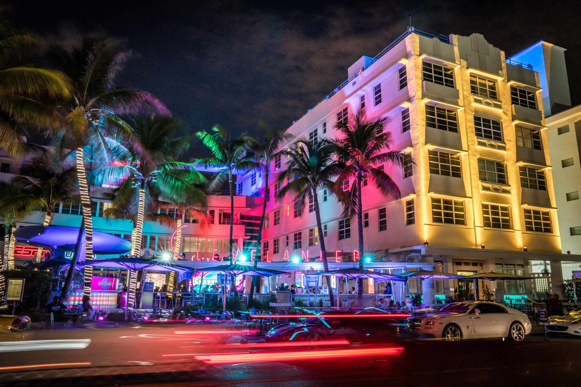 Neon Lights on South Beach Miami