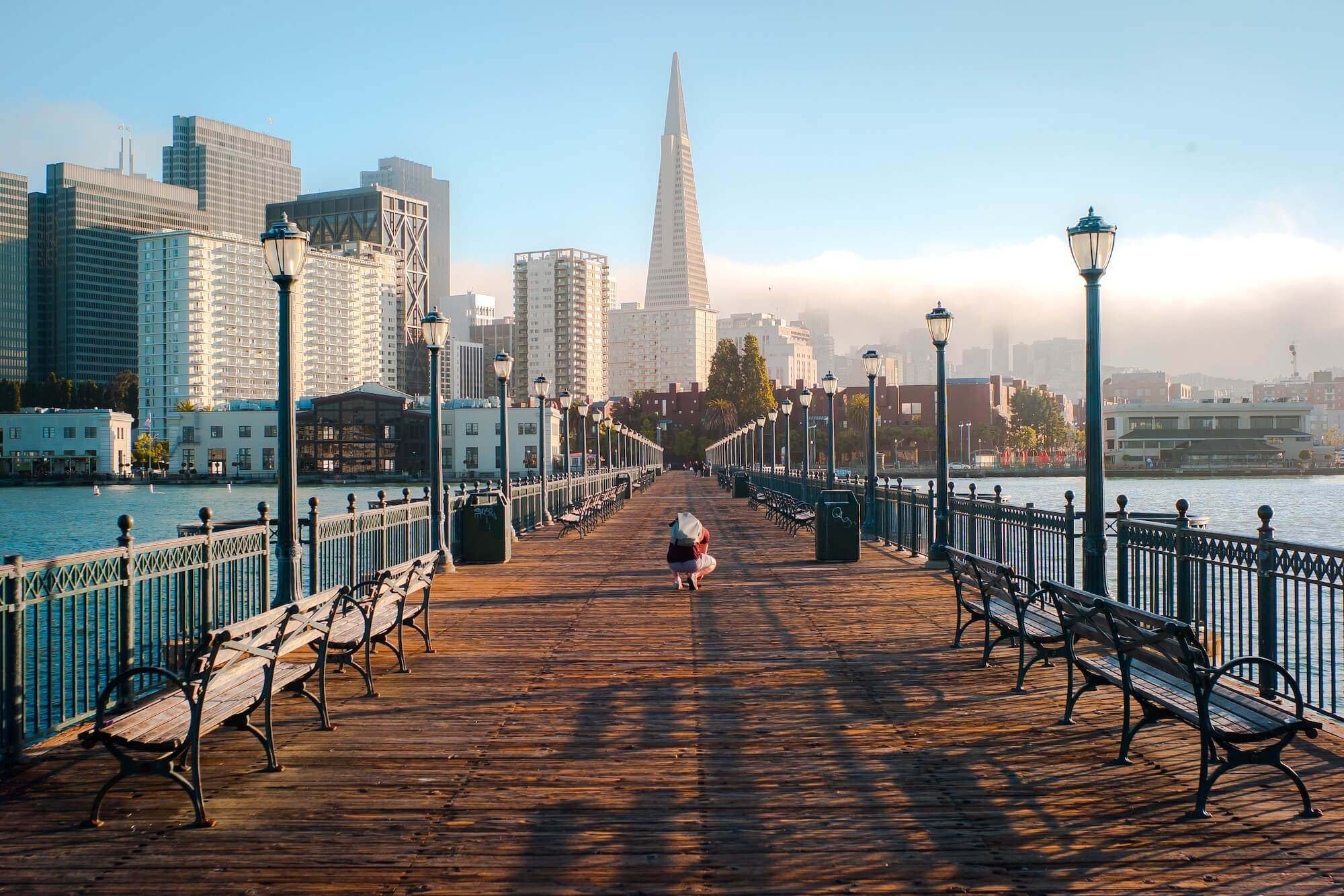 San Francisco Wooden Bridge